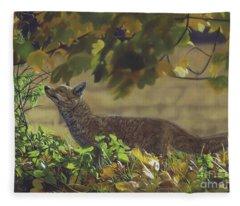 The Fantastic Mr Fox Fleece Blanket