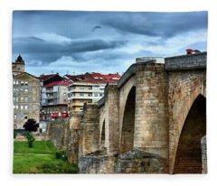 The Majestic Ponte Vella Fleece Blanket