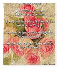 The  Marriage Prayer Fleece Blanket