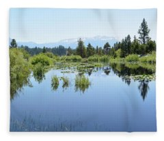 The Marsh 2 Fleece Blanket