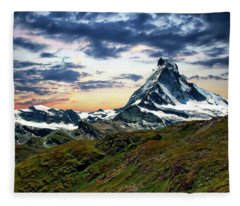 The Matterhorn Fleece Blanket