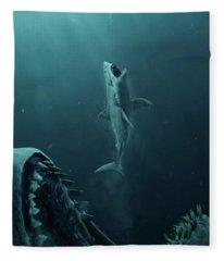 The Meg 5.0.3 Fleece Blanket