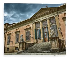 The Meridian Palace In The Pitti Palace Fleece Blanket