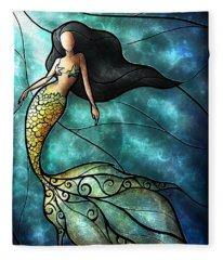 The Mermaid Fleece Blanket