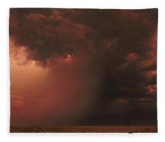 The Microburst Fleece Blanket