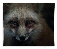In The Dark Of The Night Fleece Blanket