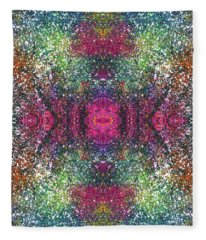 The Milky Way's Galatic Plane #1468 Fleece Blanket