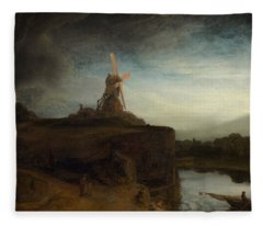 The Mill Fleece Blanket