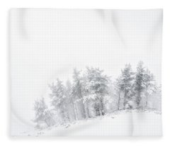 The Minimal Forest Fleece Blanket