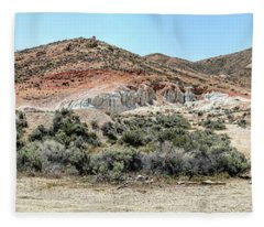 The Mining Area Fleece Blanket