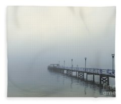 The Mist That Hides Your Trace Fleece Blanket