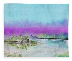 The Mist Fleece Blanket
