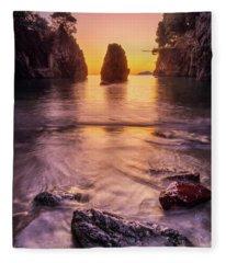 The Monolith Fleece Blanket