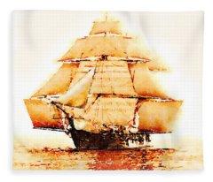 The Monongahela Fleece Blanket