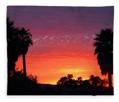The Moody Views Fleece Blanket