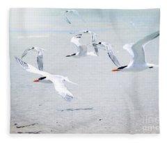 The Morning Rush Fleece Blanket