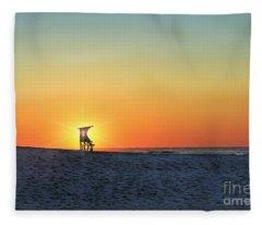 The Morning Watchtower Fleece Blanket