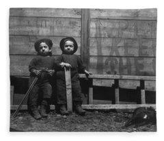 The Mott Street Boys   Keep Off The Grass  By Jacob Riis Fleece Blanket