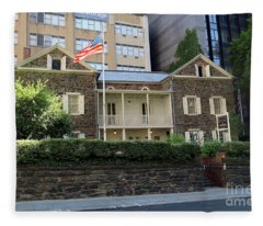 The Mount Vernon Hotel Museum  Formerly The Abigail Adams Smith Museum Fleece Blanket