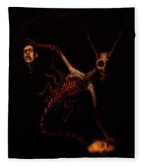 The Murder Bug - Artwork Fleece Blanket