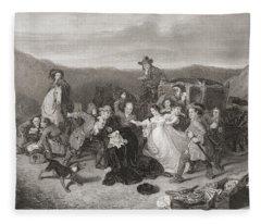 The Murder Of Archbishop Sharp. James Fleece Blanket