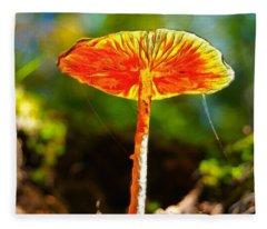 The Mushroom 10 - Da Fleece Blanket