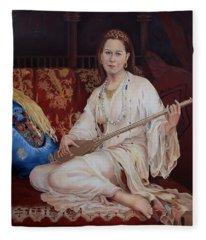 The Musician Fleece Blanket