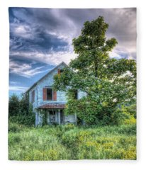 The Nathaniel White Farm House Fleece Blanket