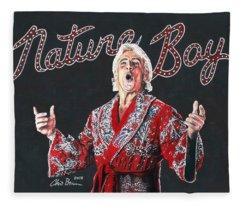 The Nature Boy, Ric Flair Fleece Blanket