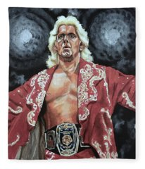 The Nature Boy Ric Flair Fleece Blanket