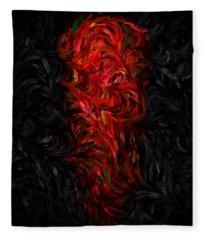 The Night Of The Chili Pepper... Fleece Blanket
