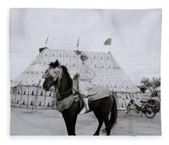 The Noble Man Fleece Blanket