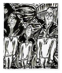The Nod Trio Circa 1967 Fleece Blanket