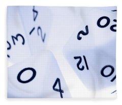 The Numbers Game Fleece Blanket