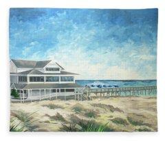 The Oceanic Fleece Blanket