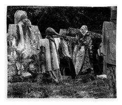 The October Clan Fleece Blanket