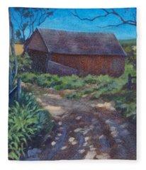 The Old Homestead Fleece Blanket