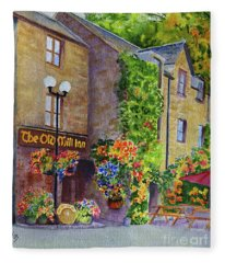 The Old Mill Inn Fleece Blanket
