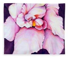 The Orchid Fleece Blanket