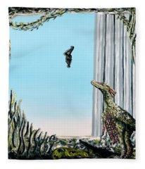 The Origin Of Species -a Recurring Pattern- Fleece Blanket