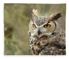 The Owl Fleece Blanket