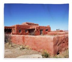 The Painted Desert Inn Fleece Blanket