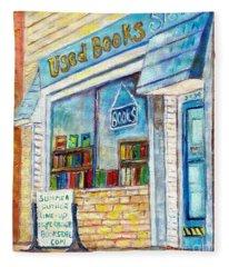 The Paperbacks Plus Book Store St Paul Minnesota Fleece Blanket