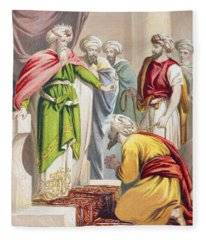 The Parable Of The King And The Fleece Blanket