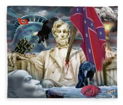 The Party Of Lincoln Days At An End Fleece Blanket