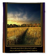 The Path Fleece Blanket