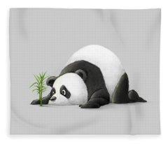 The Patient Panda Fleece Blanket