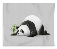 The Patient Panda Fleece Blanket