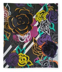 The Petals Of Prosperity Fleece Blanket