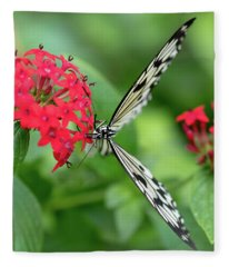 The Perfect Butterfly Land Fleece Blanket